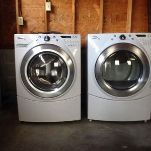 Whirlpool Duet Washer and Dryer $600-$680 for Sale in La Puente, CA