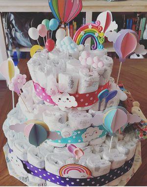 Diaper cake for Sale in San Jose, CA