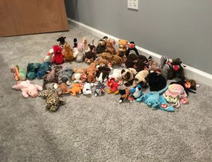 Extra Rare TY Beanie Babies lot! Great condition! for Sale in Merchantville, NJ