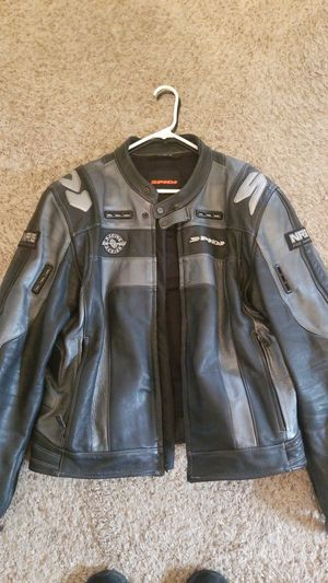 Spidi leather motorcycle jacket. for Sale in San Diego, CA