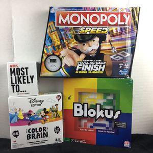 Board Games bundle for Sale in Visalia, CA