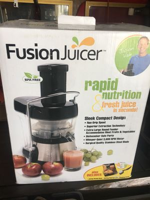 Brand New Fusion Juicer for Sale in Iron City, GA