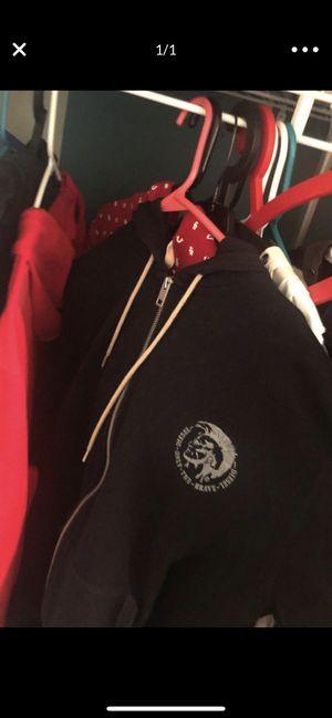 Black diesel jacket men for Sale in Germantown, MD