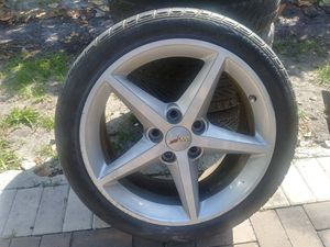 2013 Corvette 19 inch and 18 rims and tires for Sale in Fort Lauderdale, FL