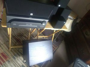 JVC Receiver/ Speakers plus Subwoofers for Sale in Obetz, OH