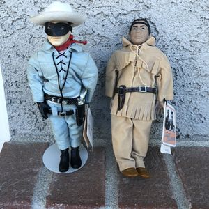 Lone Ranger And Tonto Collector Dolls for Sale in Calabasas, CA