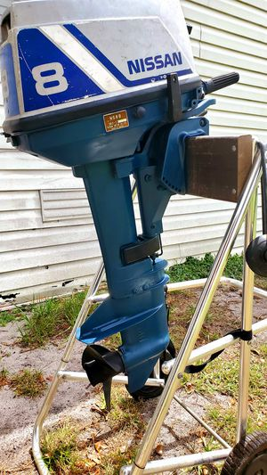 Nissan 8HP outboard motor - Excellent condition - Short shaft for Sale in Boynton Beach, FL
