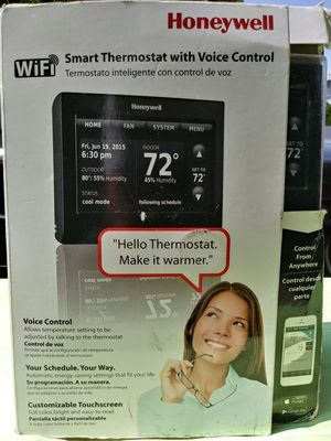 """"""" New """" Smart Thermostat with voice control REDUCED PRICE NOW $130 for Sale in Inglewood, CA"""