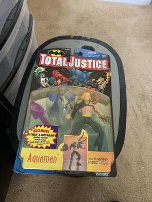 1996 Total Justice Aquaman Action Figure for Sale in Gilbert, AZ