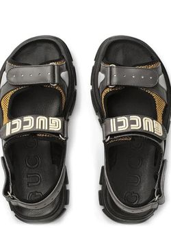 Leather and mesh sandals for Sale in Temple City,  CA