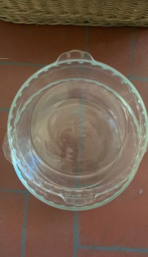 Pyrex pie baking dishes for Sale in La Verne, CA