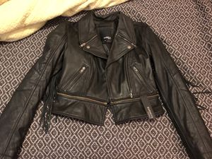 Barneys Originals 100% Leather Jacket for Sale in Fort Worth, TX