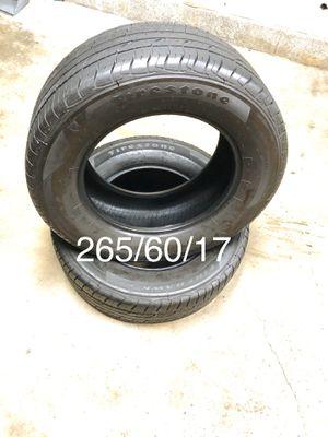 2018 Firestone FireHawk GT - 4 Tires for Sale in Carlsbad, CA