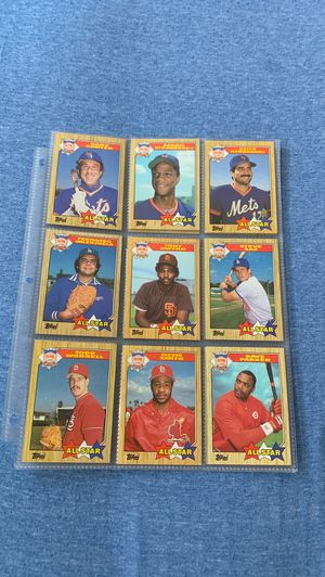 1986 National League-1986 American League AllStar card sets for Sale in Brooklyn, NY