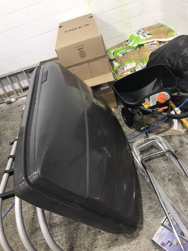 Small tool box, tonneau cover, roof cargo