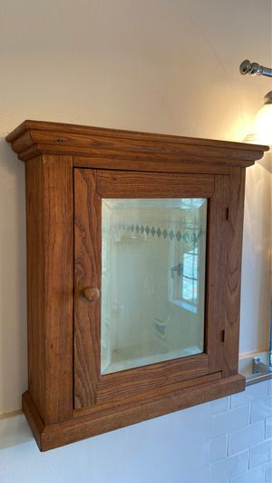 ANTIQUE WALL CABINET for Sale in Pasadena, CA