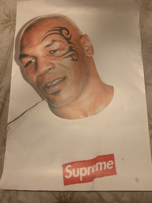 Supreme mike Tyson / Kermit posters CHEAP for Sale in Hawthorne, CA