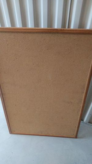 """Free 36"""" x 24"""" Cork Board Pick up Only for Sale in Gibsonton, FL"""