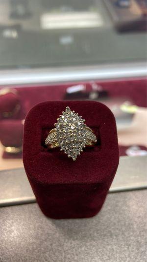Ladies 10k Cluster Ring for Sale in Houston, TX