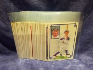 1984 Donruss Champion Complete 60 Count Baseball Card Set Plus 8 Extra Duplicate Cards for Sale in Diamond Bar, CA