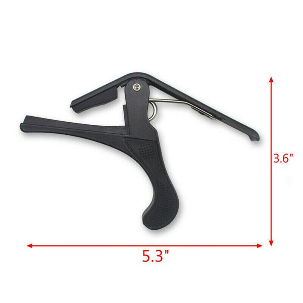 quick change tune clamp key trigger capo for acoustic electric guitar tuneclamp usa for sale. Black Bedroom Furniture Sets. Home Design Ideas