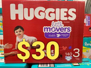 Huggies Little Mover size 3 for Sale in Long Beach, CA