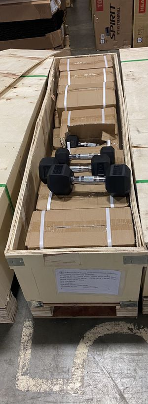Inspire 5-50lbs Hex Dumbbell Set for Sale in Kent, WA
