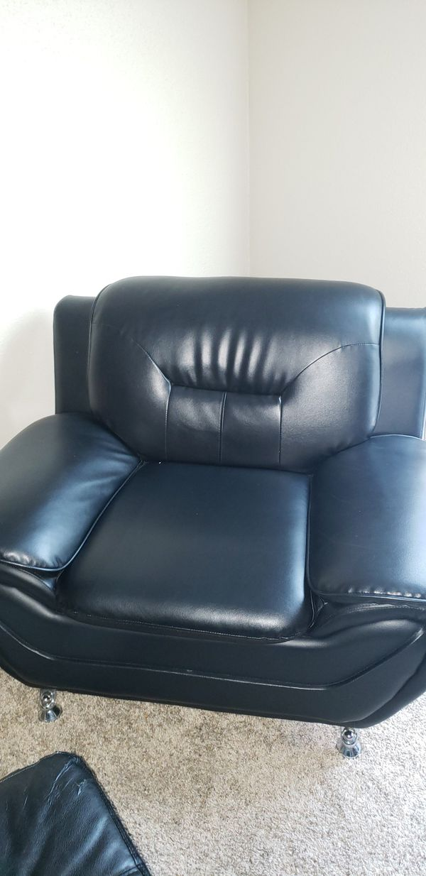 """61"""" pillow top arms love seat and chair"""