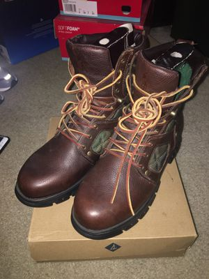 Polo Ralph Lauren boots leather size 9.5 for Sale in Silver Spring, MD