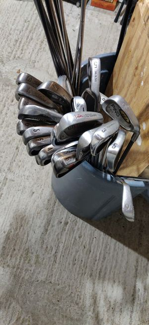 Golf club irons and putters for Sale in Danbury, CT
