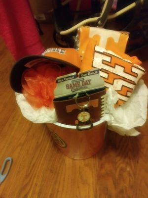Ut basket make reasonable just too let no it wasn't cheap making this basket for Sale in Knoxville, TN