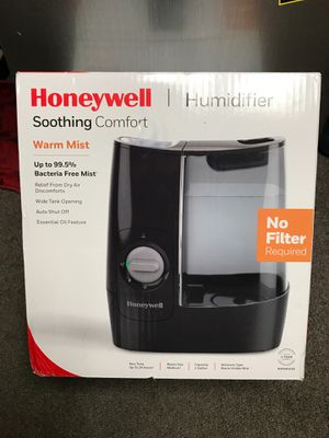 New Honeywell warm mist humidifier no filter required for Sale in Walnut, CA