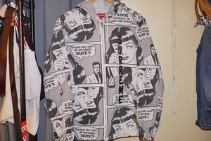 Supreme thrasher hooded jacket size medium 8/10 for Sale in Colesville, MD