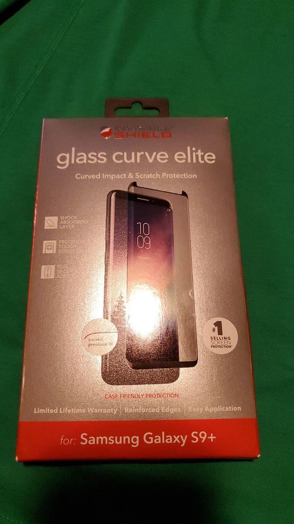 Invisible Shield Samsung Galaxy S9+ glass curve elite cover