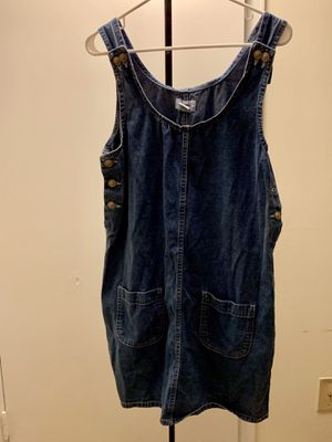Denim overall dress for Sale in Durham, NC