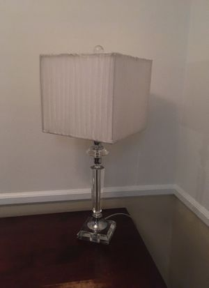 Lamp- White-$20 for Sale in Greenville, SC