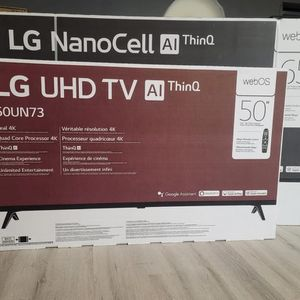 Lg NanoCell Ultra HD Televison for Sale in Dallas, TX