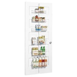 White Elfa Utility Pantry Over the Door Rack for Sale in Fort Worth,  TX