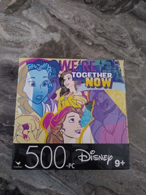 New beauty and the beast 500 PC puzzle shipping only no pickup for Sale in Apalachicola, FL