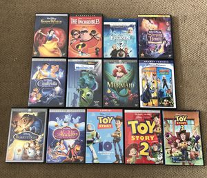 Lot 13 Disney children's movies for Sale in Scottsdale, AZ