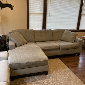 Convertible Sectional with Sleeper Sofa Bed for Sale in Tukwila, WA