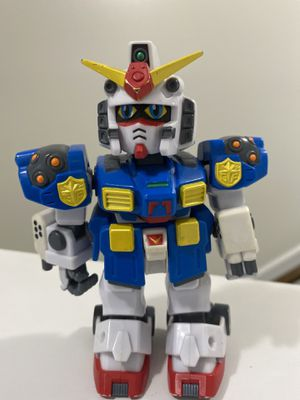 "Captain Gundam Rare 2003 BANDAI SD GUNDAM FORCE ROBOT ACTION FIGURE 5"" for Sale in Fayetteville, NC"