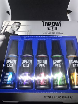 TapOut mens body spray fragrance for Sale in Austin, TX