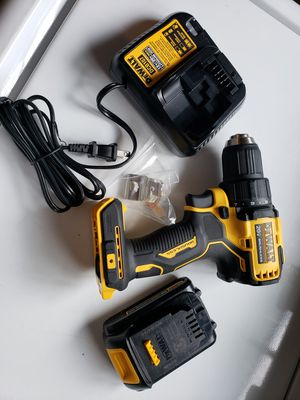 Dewalt drill 20v max Brushless.. Battery and Charger for Sale in Riverside, CA