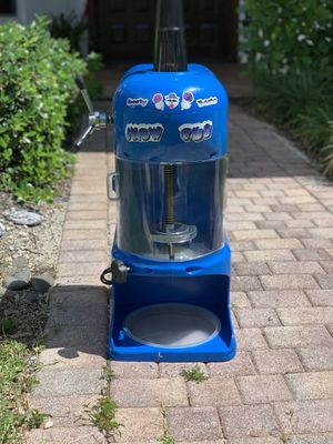 Great Northern Snow Cub Shaved Ice Machine Ice Shaver Snow Cone Maker for Sale in Aventura, FL