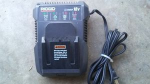 New Ridgid 18v Lithium ion CHARGER for Sale in Oceanside, CA