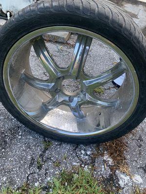 truck wheels with rim for Sale in Boynton Beach, FL