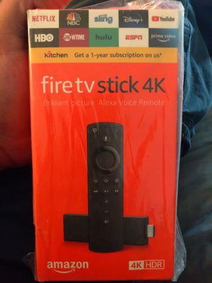Fire tv stick 4K for Sale in Phoenix, AZ