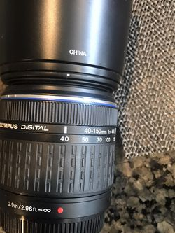 Olympus digital lens 40 - 150 mm ED for Sale in Murrieta,  CA