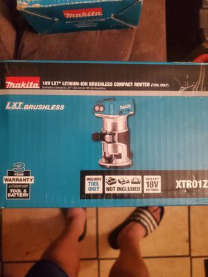 Router makita brushless. TOOL ONLY for Sale in Compton, CA